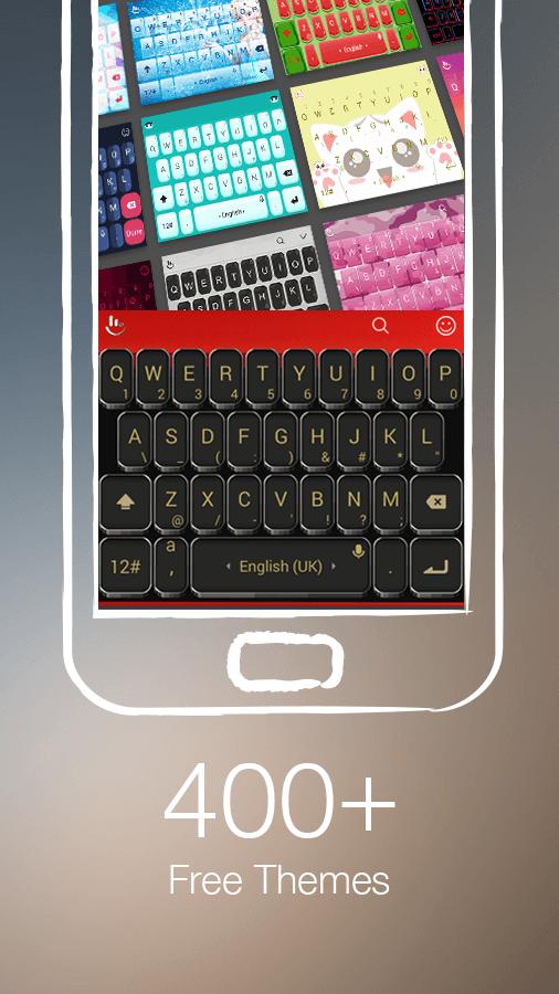 TouchPal Keyboard - Cute Emoji screenshot #4