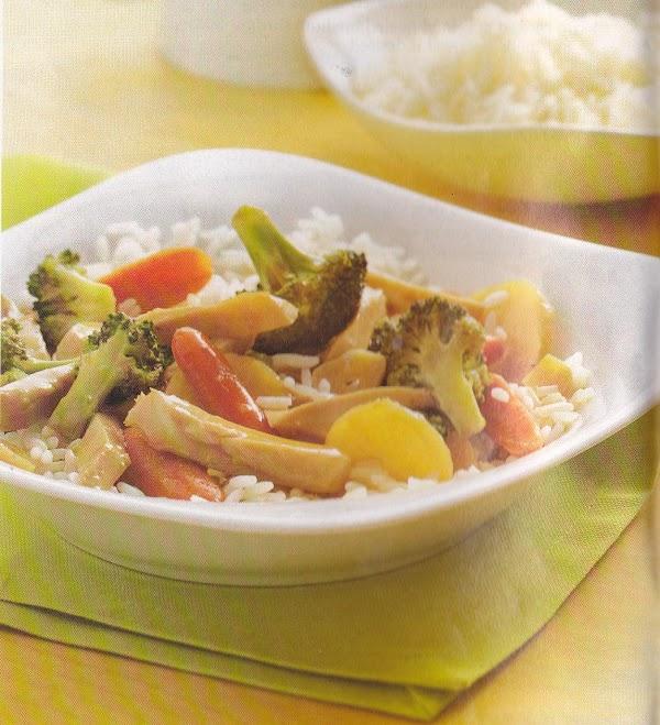 Garlic Chicken And Broccoli Stir-fry Recipe