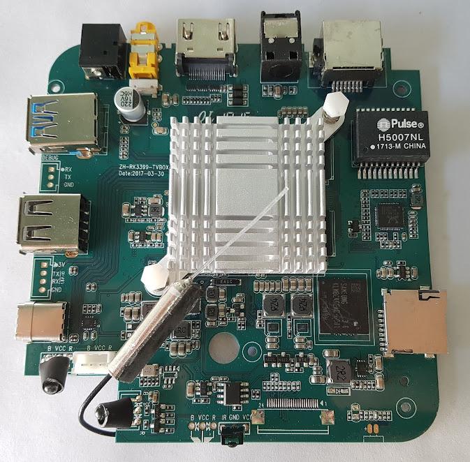 REVIEW] TV Box H96 Max - Rockchip RK3399 3/32GB Gibabit Lan