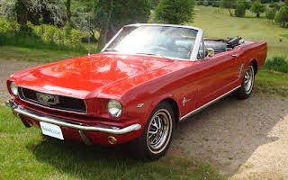 Ford Mustang Convertable Rent Midtjylland