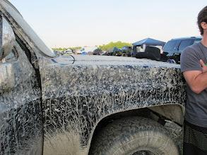 Photo: Das Auto muss gewaschen werden