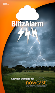 BlitzAlarm - Gewitterwarnung Screenshot