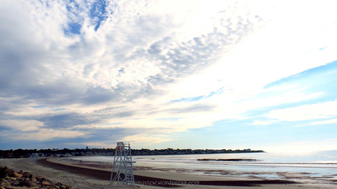 Easton's Beach.