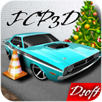 speed car parking lot 3d Icon