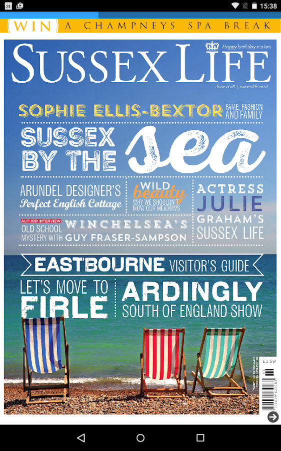 Sussex Life Magazine- screenshot