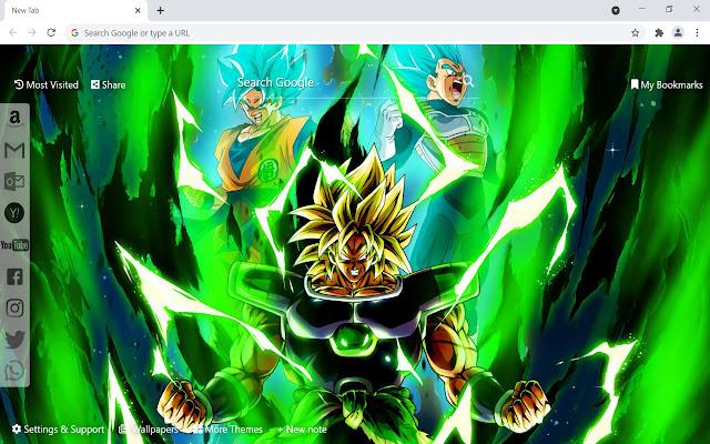 Dragon Ball Super: Broly Wallpaper Anime
