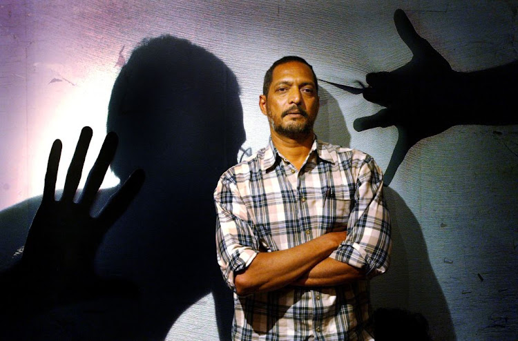 Bollywood star Nana Patekar in Mumbai, India on March 3 2004.