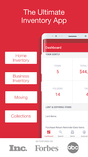 Sortly- Inventory app for business, home inventory screenshot for Android