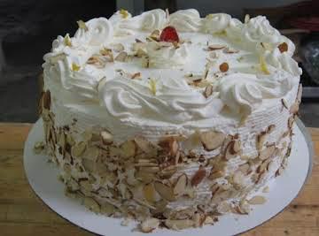 ITALIAN RUM CREAM CAKE  by Freda