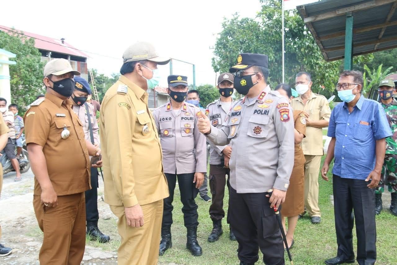 Kapoldasu Kembali Kunjungi Garoga, Pastikan Tidak Ada Kerumunan di Dusun Gur Gur