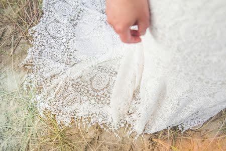 Beach wedding, Holland