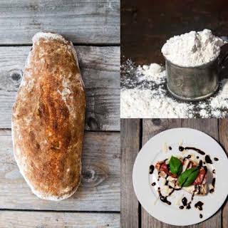 Sourdough Bread With Muscovado Sugar.