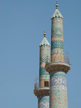 Photo: Minarety w Yazd