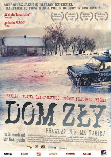Polski plakat filmu 'Dom Zły'