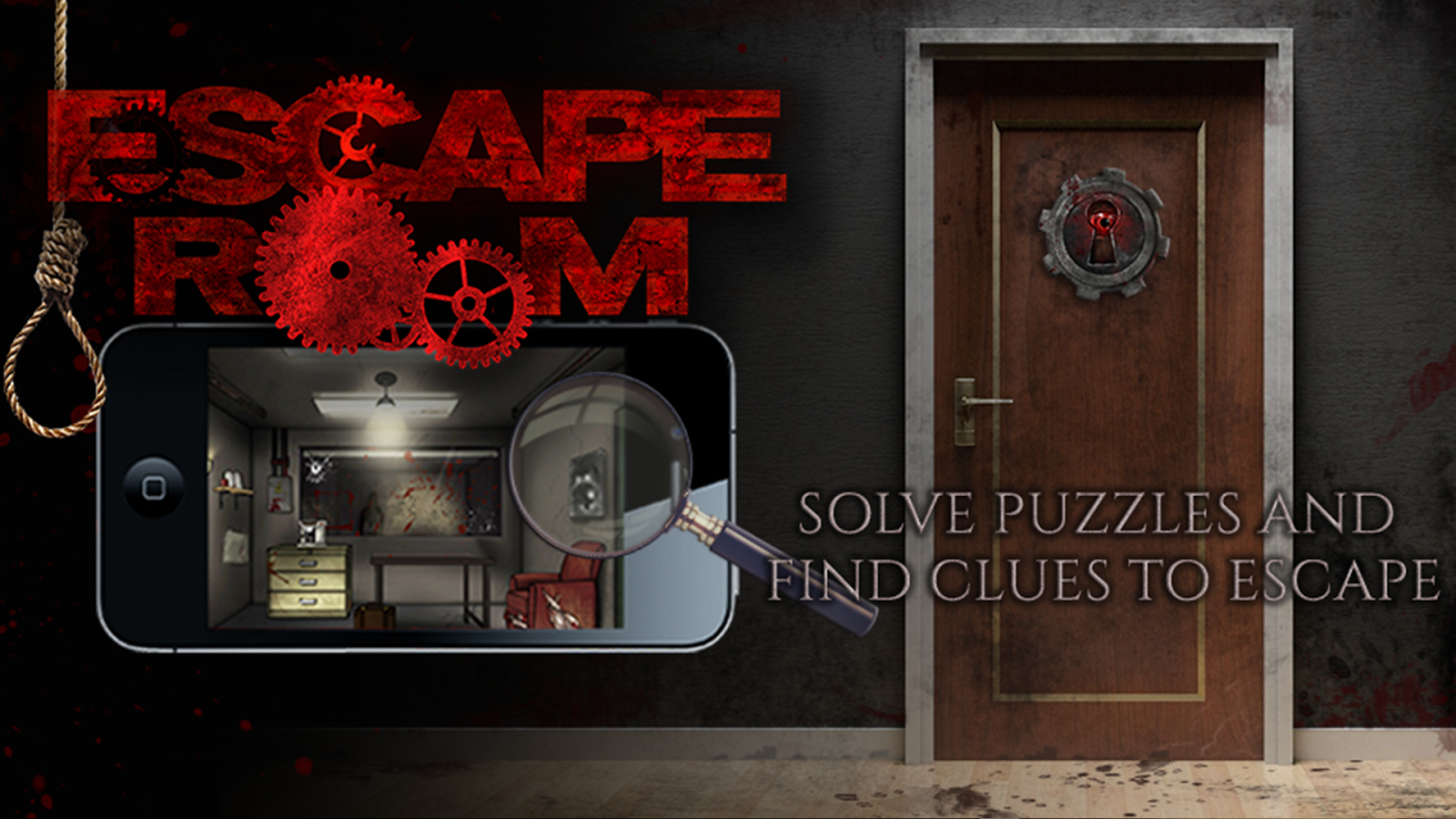 Escape Room The Movie Game- screenshot