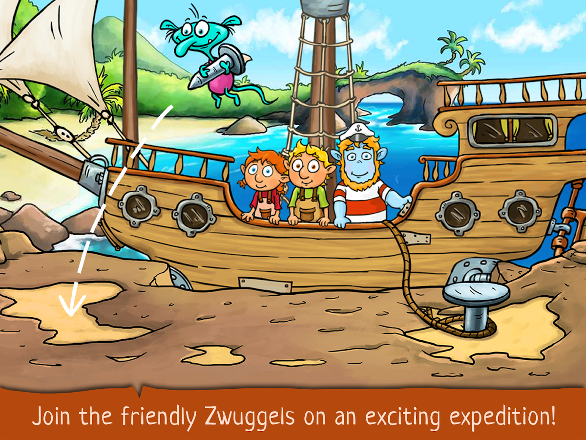 Kids Games and Story - The Zwuggels Beach Holidays- screenshot