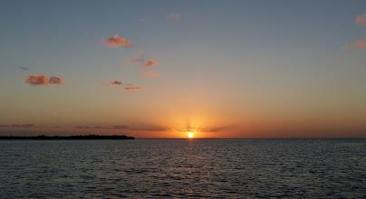 Photo: Sunset on Christmas Eve