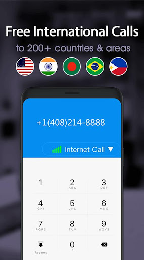 Free phone calls, free texting SMS on free number 4.0.2 screenshots 3
