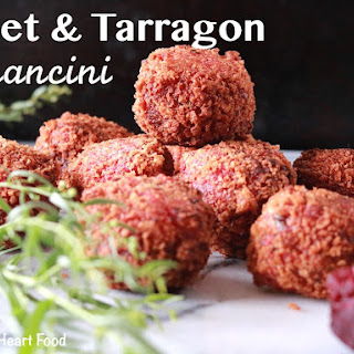 Beet and Tarragon Arancini
