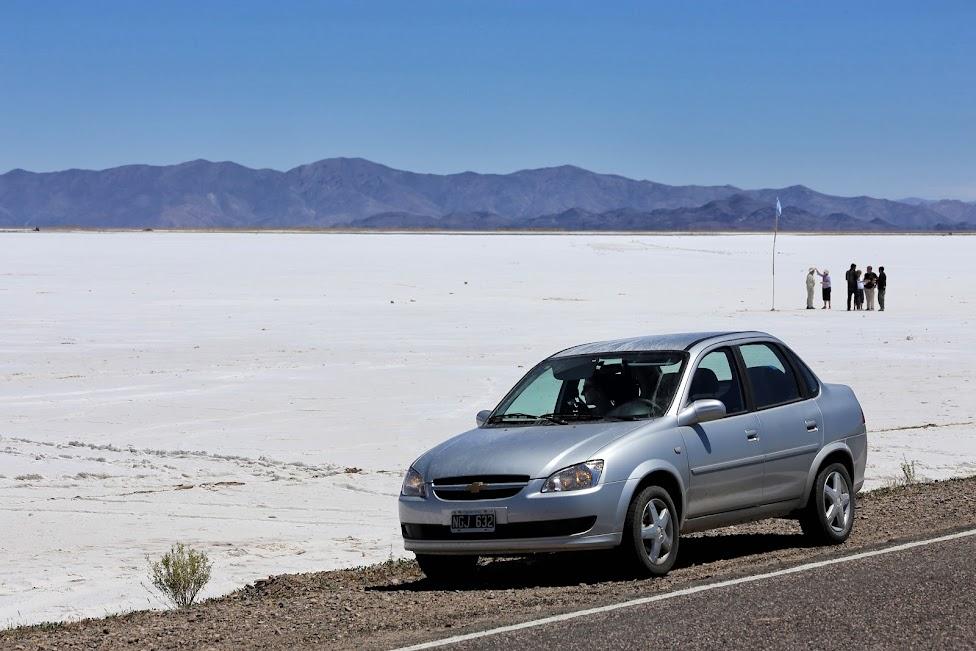 jak wypożyczyć samochód, Salinas Grandes, Argentyna