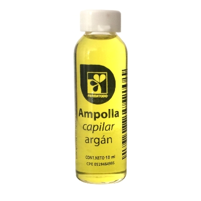 ampolla farmatodo capilar argan 10ml