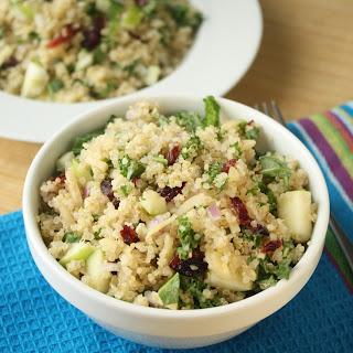 Quinoa 101 | Quinoa, Kale & Apple Salad