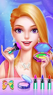 💄👗Cinderella Fashion Salon - Makeup & Dress Up Screenshot