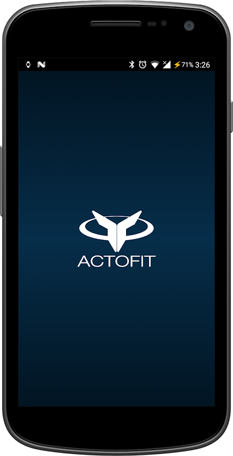 Actofit Android Wear (Unreleased)- screenshot