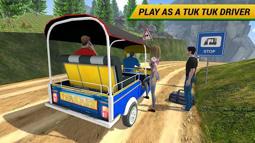 Offroad Tuk Tuk Driving Simulator Free 1.0 screenshots 4