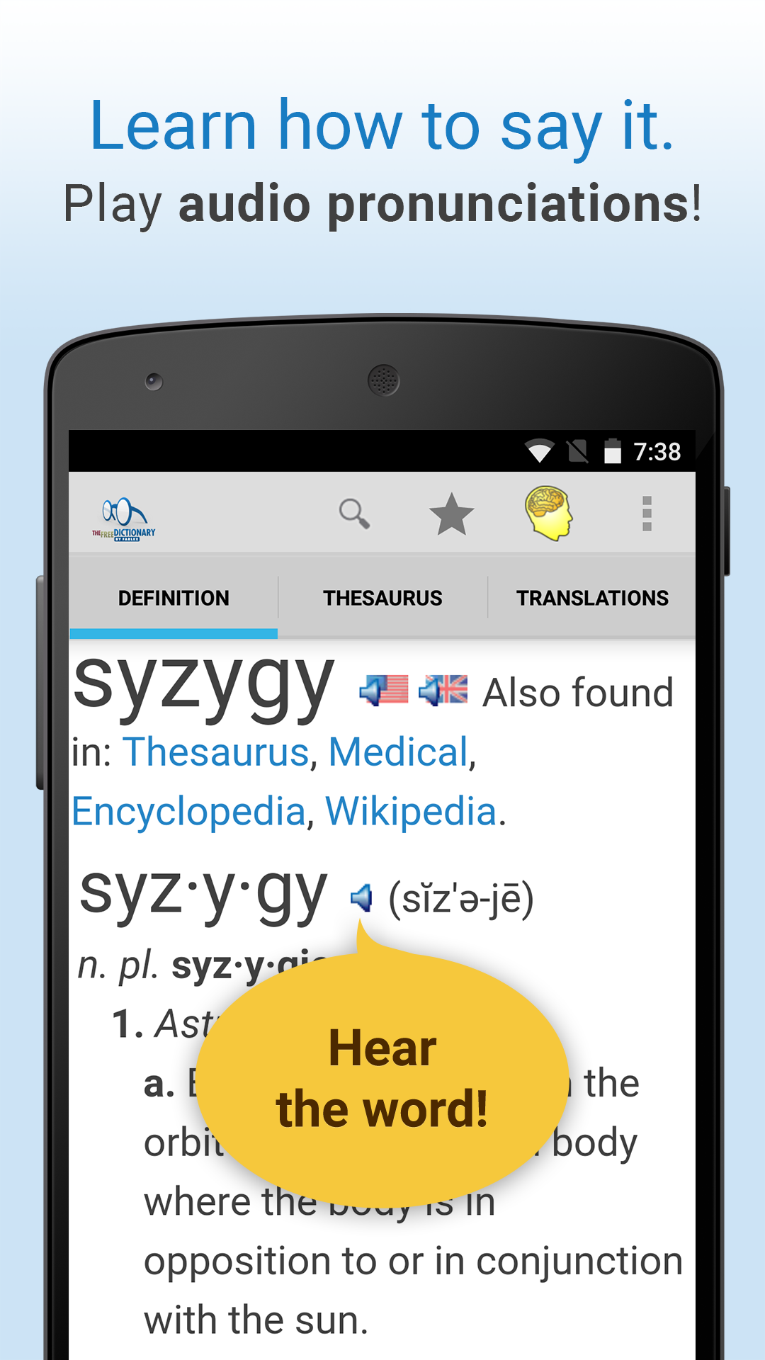 Dictionary screenshot #3