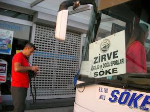 Photo: Zirve Söke Başkanımız Faysal Bey. Bozüyük-Belen Kahvesi faaliyeti Söke'den başlıyor.-21.09.2014