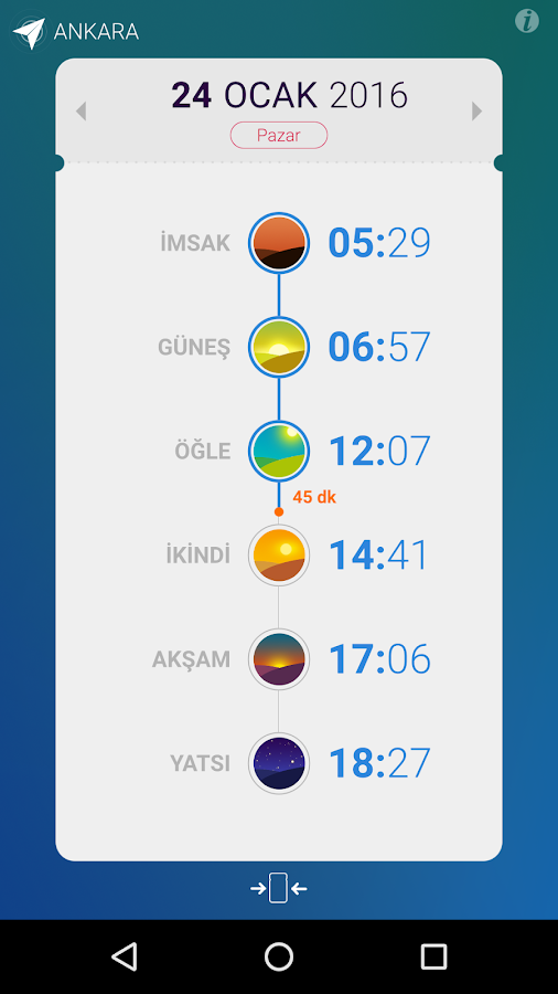 Ekinoks - Prayer Times- screenshot