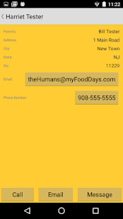 myFoodDays- screenshot thumbnail