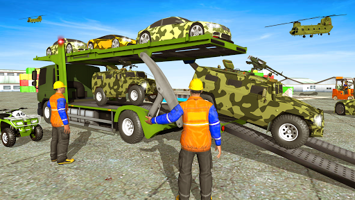 Army  Cars Transport Simulator 2019