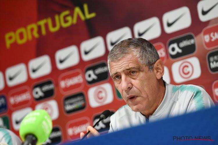 """Le Portugal """"était de plus en plus nerveux"""", reconnaît le coach Fernando Santos"""