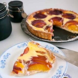 Nectarine Cream Cheese Tart Recipe