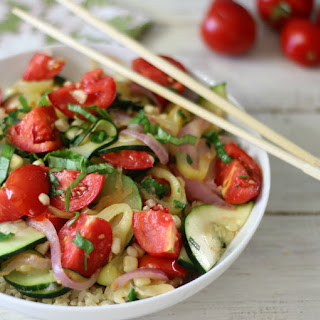 Summertime Vegetarian Stir Fry.