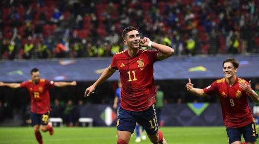 (1-2): España se exhibe ante Italia en San Siro