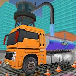 Mineral Water Tanker Transporter Simulator