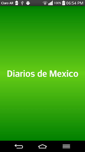 Diarios de Mexico