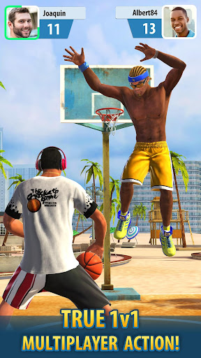 Basketball Stars apkmind screenshots 1