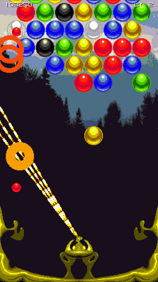 Bubble Shmup!- screenshot