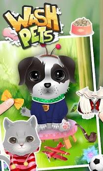 Wash Pets - kids games