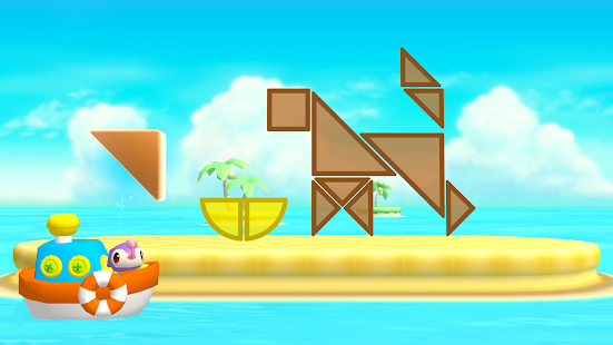 Shapes Builder (+4) - A different tangram for kids- screenshot thumbnail