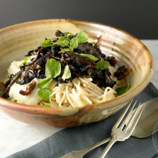 Cauliflower Pasta Sauce And Balsamic Mushrooms + Announcement