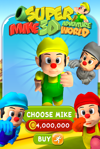 無料街机AppのSuper Mike World Run 3D|記事Game
