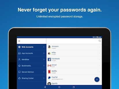 Sticky Password Manager & Safe Capture d'écran