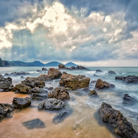 After the rain. by Phattana Sangsawang - Landscapes Beaches