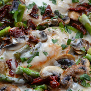 Chicken Asparagus Cream Of Mushroom Recipes.