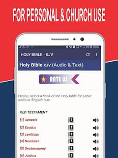 King James Offline Bible App + Audio